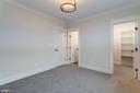 Lower level bedroom - 10317 BURKE LAKE RD, FAIRFAX STATION