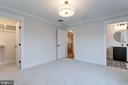 Secondary bedroom - 10317 BURKE LAKE RD, FAIRFAX STATION