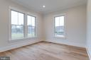 Main level guest bedroom/study - 10317 BURKE LAKE RD, FAIRFAX STATION