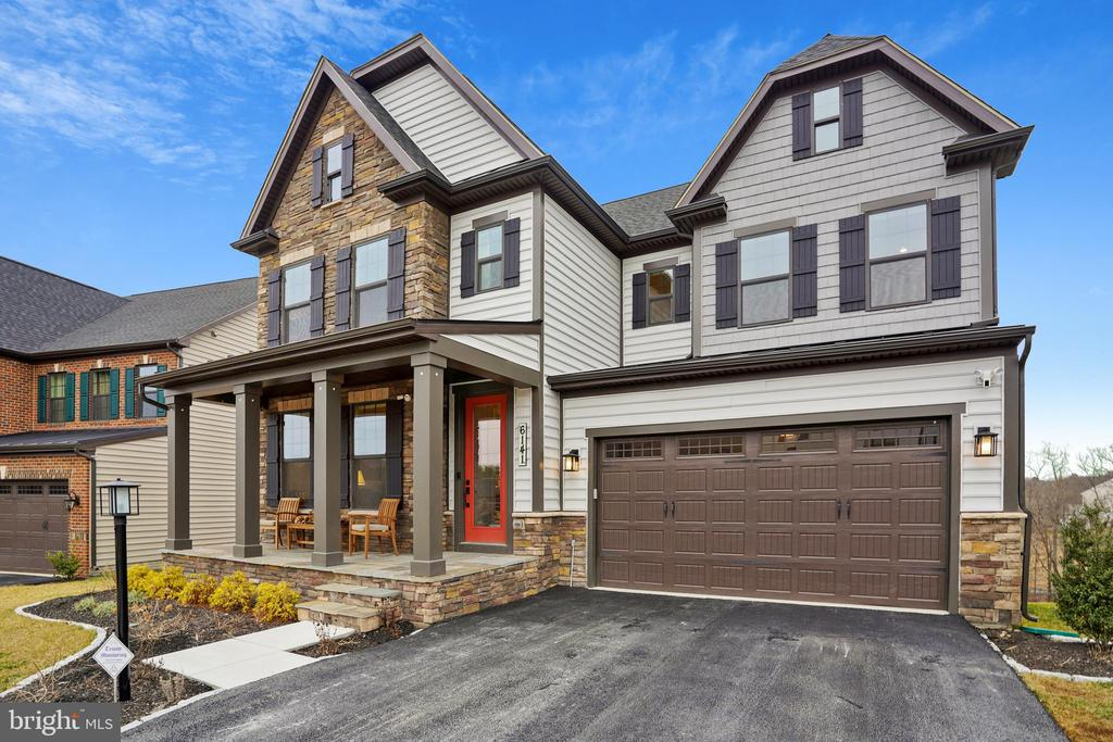 Stone Front with Porch & Landscaped - 6141 FALLFISH CT, NEW MARKET