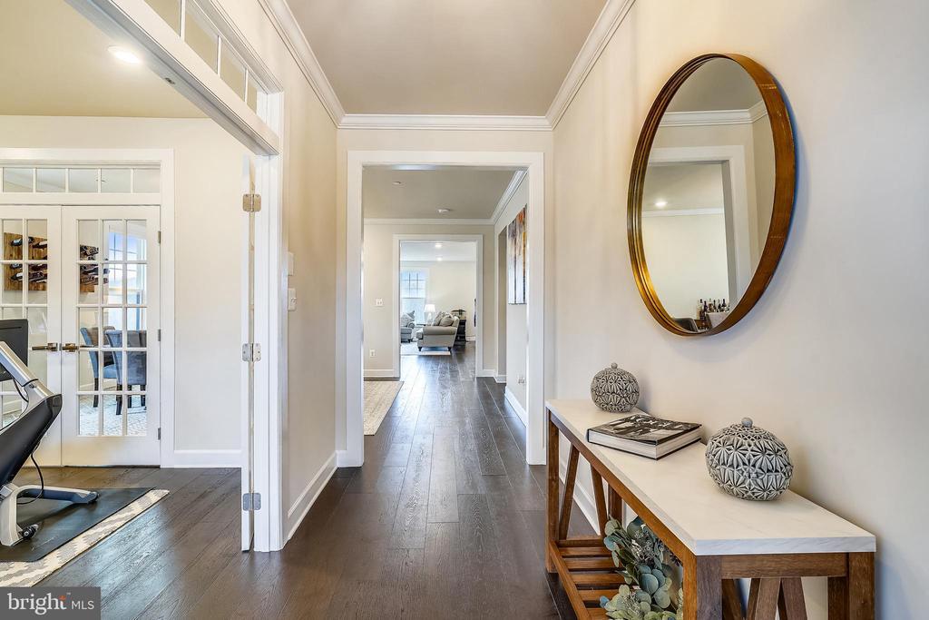 Foyer, Hardwood Floors on Main Level - 6141 FALLFISH CT, NEW MARKET