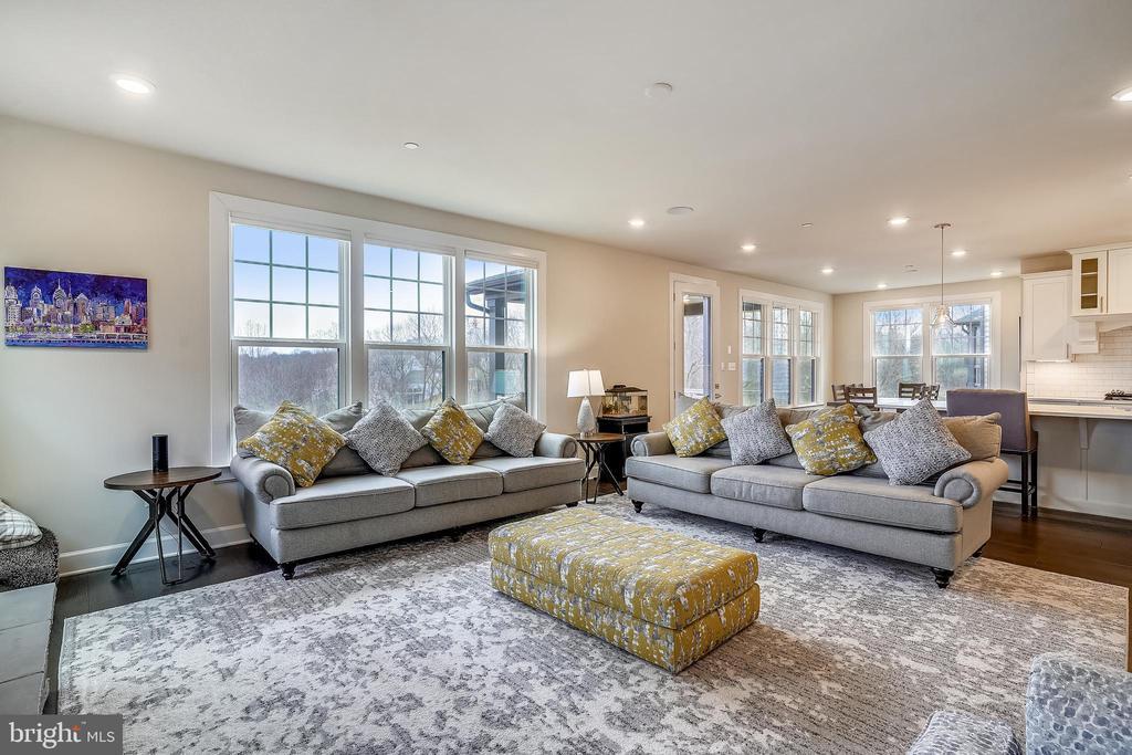Family Room Lots of Natural Light  & Great Views - 6141 FALLFISH CT, NEW MARKET