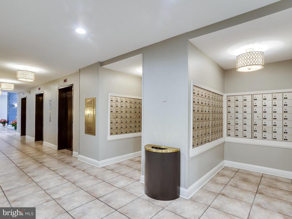 Mailboxes & Elevator Lobby Level - 5500 HOLMES RUN PKWY #1517, ALEXANDRIA