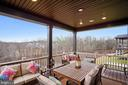 Back Porch/Deck with View - 6141 FALLFISH CT, NEW MARKET
