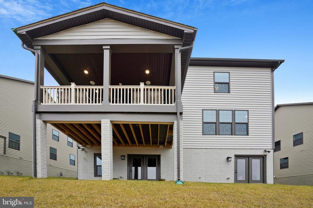Back of House 2 Doors Walk-out - 6141 FALLFISH CT, NEW MARKET