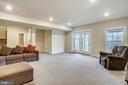 LL Great Room, Recessed Lights & Walk-out - 6141 FALLFISH CT, NEW MARKET