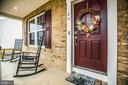 Inviting Front Porch - 24 IVY SPRING LN, FREDERICKSBURG