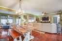 Casual Eating Area - 24 IVY SPRING LN, FREDERICKSBURG