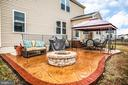 Stamped Patio and Fire Pit - 24 IVY SPRING LN, FREDERICKSBURG
