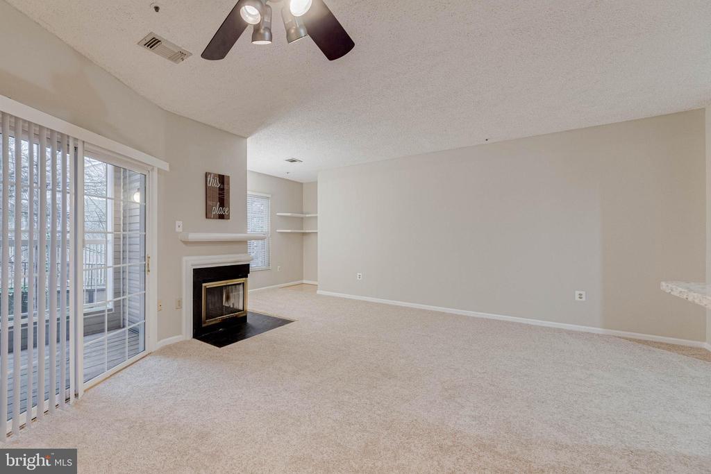 Cozy fireplace for winter ! - 287 S PICKETT ST #202, ALEXANDRIA