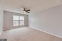 Master Bedroom w/ ceiling fan - 287 S PICKETT ST #202, ALEXANDRIA
