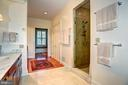 Master suite standing shower - 205 MILL SWAMP RD, EDGEWATER