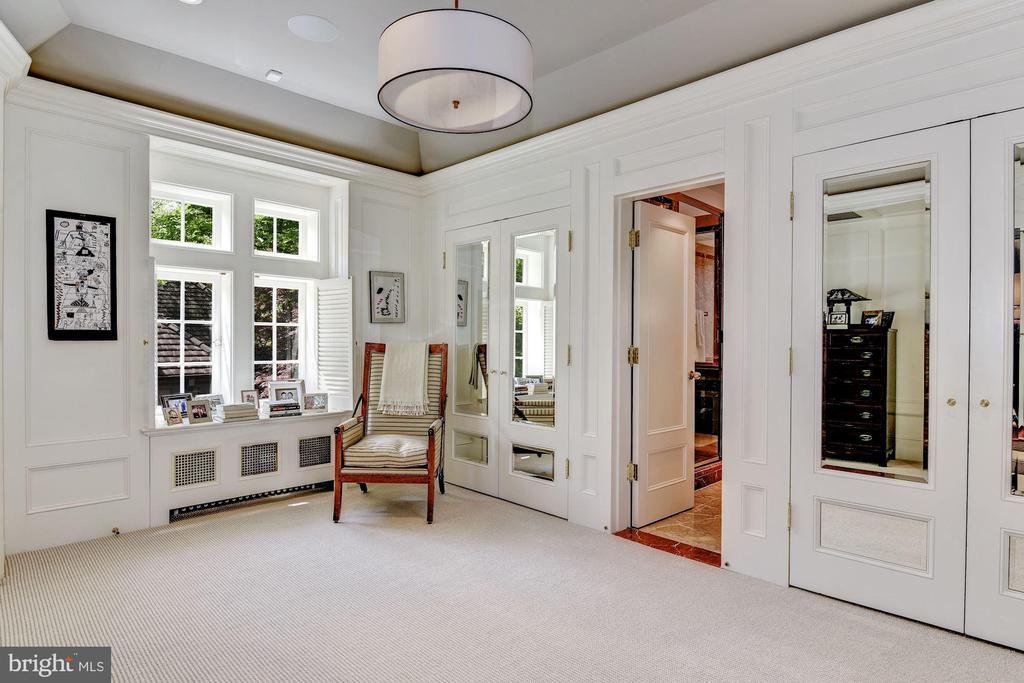 His Dressing Room w/ private bath - 4400 GARFIELD ST NW, WASHINGTON