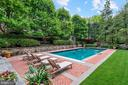 Rear Garden Pool privacy - 4400 GARFIELD ST NW, WASHINGTON