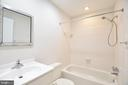 2nd Level Bathroom - 7839 CODDLE HARBOR LN #22, POTOMAC