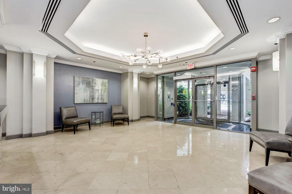 Enter Into The Beautiful Chase Lobby - 7500 WOODMONT AVE #S208, BETHESDA