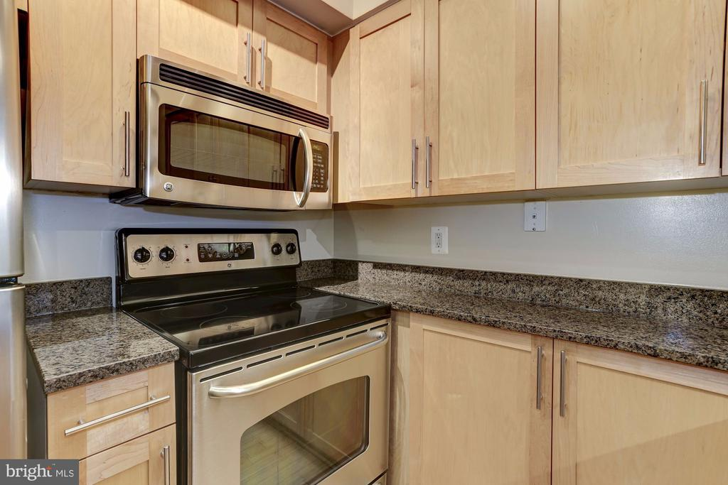 Gourmet Kitchen with an Abundance of Cabinets - 7500 WOODMONT AVE #S208, BETHESDA