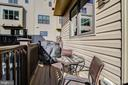 Deck with Gas Grill - 16636 CRABBS BRANCH WAY, ROCKVILLE