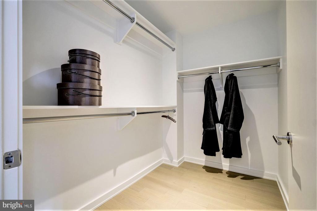 Master Bedroom Closet 1 of 2 - 1111 24TH ST NW #23, WASHINGTON