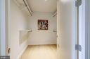 Second Bedroom Closet - 1111 24TH ST NW #23, WASHINGTON