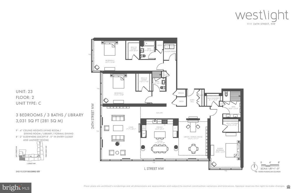 Floor plan - 1111 24TH ST NW #23, WASHINGTON