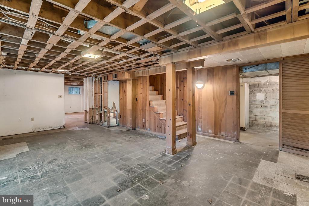 basement - 7358 SHENANDOAH AVE, ANNANDALE
