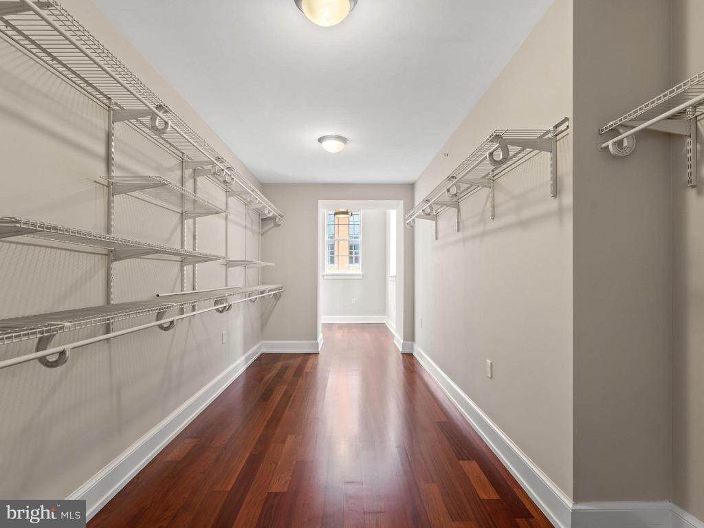 Closet, closet and more closet! - 215 I ST NE #402, WASHINGTON