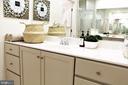 Luxury Master Bath w/Separate Sink Vanities - 23100 LAVALLETTE SQ, BRAMBLETON