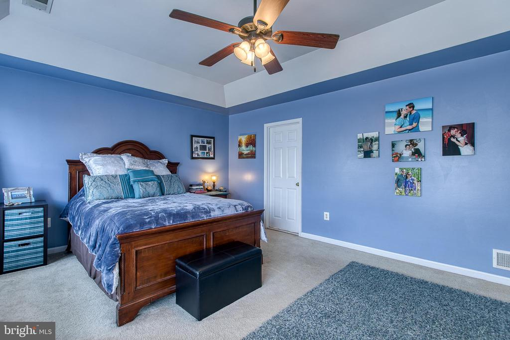 Master Bedroom with Ceiling Fan - 1819 COTTON TAIL DR, CULPEPER