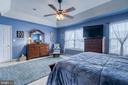 Master Bedroom - 1819 COTTON TAIL DR, CULPEPER