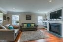 Family Room with Natural Light - 1819 COTTON TAIL DR, CULPEPER