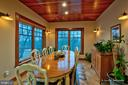Dining Room. Note Cherry Wood Ceiling, Views - 212 CICADA DR, MARTINSBURG