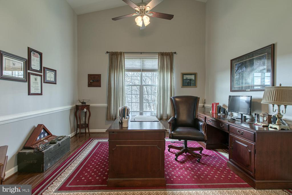 Formal Dining Room used as office - 35 DONOVAN LN, STAFFORD