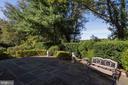 Rear stone patio off ML Family Room - 2747 N NELSON ST, ARLINGTON