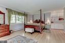 Master Bedroom on main level w/WIC - 2747 N NELSON ST, ARLINGTON