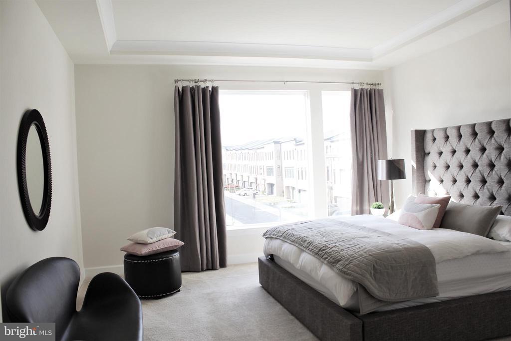 Master Suite w/En-Suite Luxury Bath - 23100 LAVALLETTE SQ, BRAMBLETON