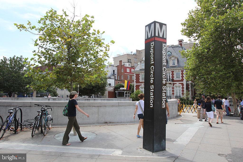 Walk about 2 blocks to the Metro - 1330 NEW HAMPSHIRE AVE NW #418, WASHINGTON