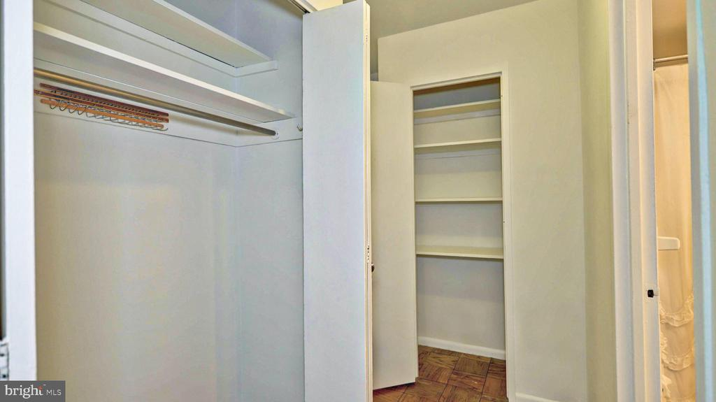 Lots of closet space in this condo - 1330 NEW HAMPSHIRE AVE NW #418, WASHINGTON