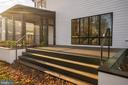 Planters, steps have lights, steel handrail. - 114 TAPAWINGO RD SW, VIENNA