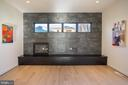 Gas fireplace & prewire TV - set at perfect view - 114 TAPAWINGO RD SW, VIENNA