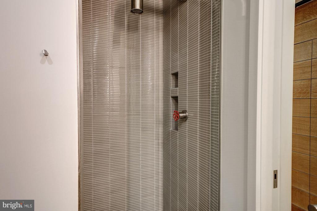 Lower Level Shower with Biffi Fixtures - 2113 S ST NW, WASHINGTON