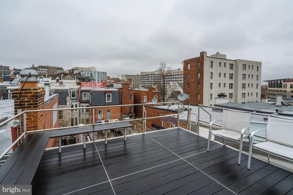 Upper Level Roof Deck - 2113 S ST NW, WASHINGTON