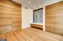 Second Bedroom with Custom Built-in Bench - 2113 S ST NW, WASHINGTON