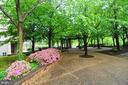Stroll through the beautiful grounds. - 4141 N HENDERSON RD #1011, ARLINGTON