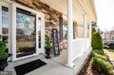 Craftsman style stone, attractive porch - 64 SANCTUARY LN, STAFFORD