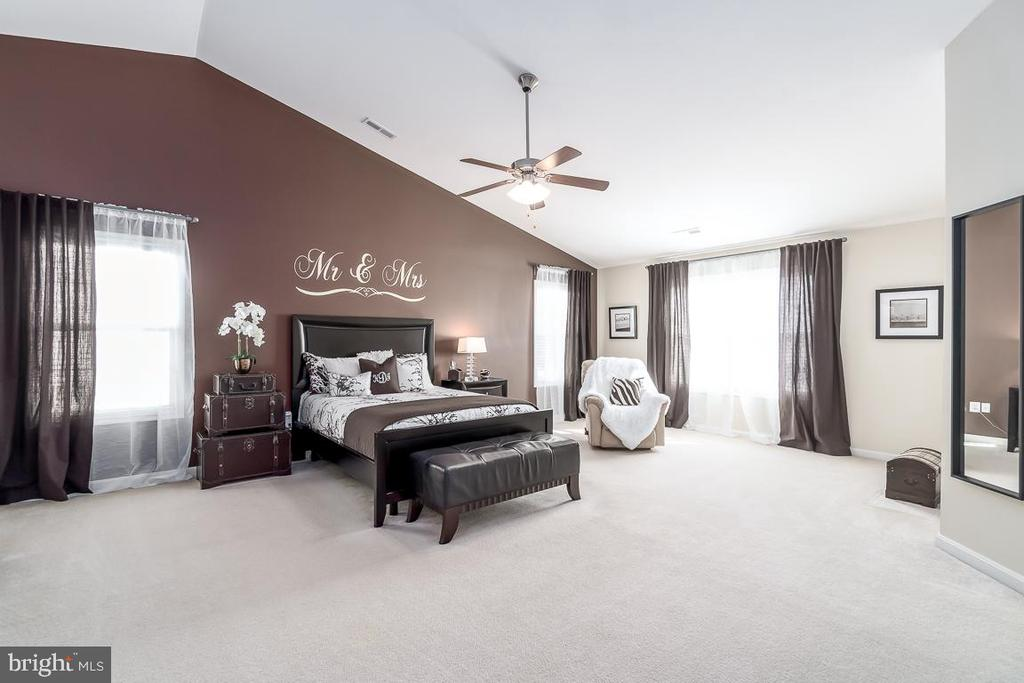 Master Suite, soaring ceilings,w/Sitting Rm - 64 SANCTUARY LN, STAFFORD