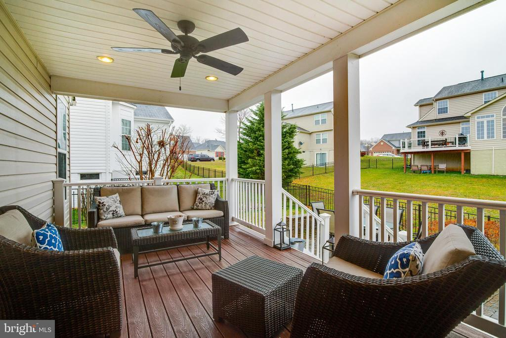 Added Enclosed porch and patio - 2472 TRIMARAN WAY, WOODBRIDGE
