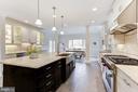 Eat-In Kitchen - 7812 SWINKS MILL CT, MCLEAN