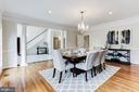 Dining Room - 7812 SWINKS MILL CT, MCLEAN