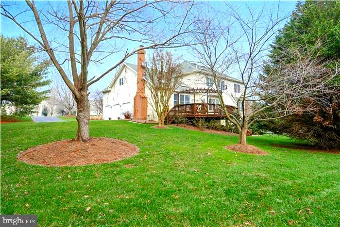 Backyard - 1340 DASHER LN, RESTON